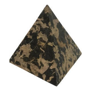 Stone Pyramid Paperweight For Sale