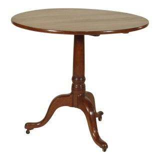 18th Century American Tea Table For Sale