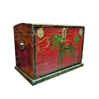 Antique Tribal Trunk, Chinese Primitive For Sale