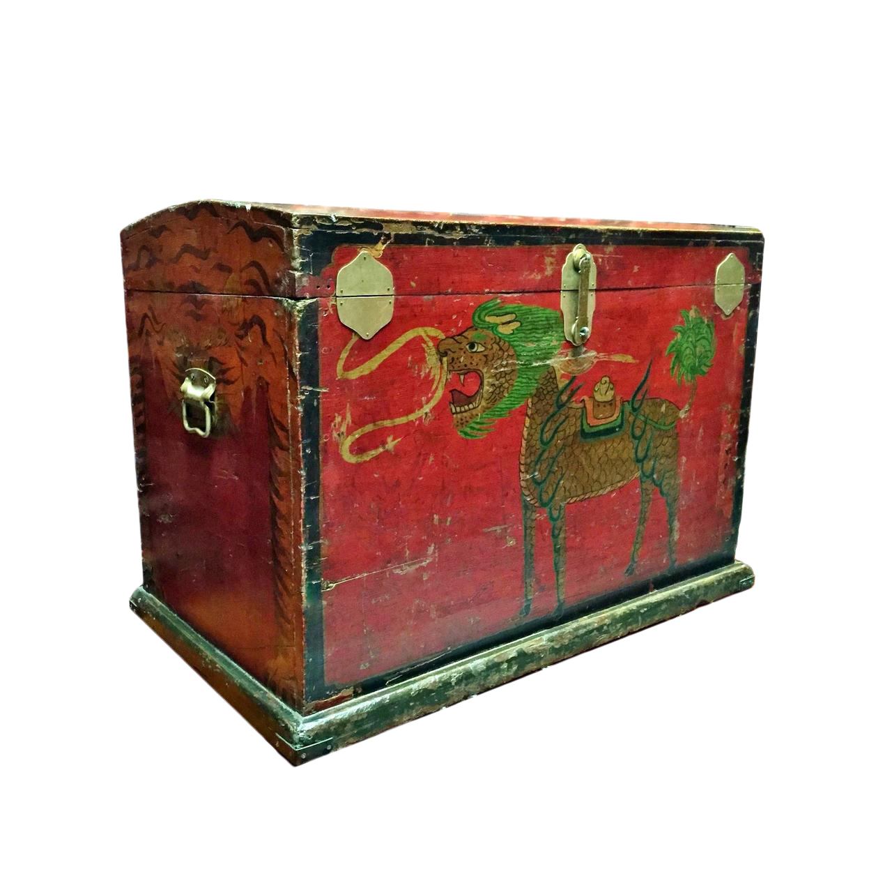Antique Tribal Trunk, Chinese Primitive