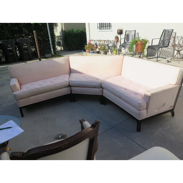 Mid-Century Modern Sectional - 3 Pieces - Image 3 of 6