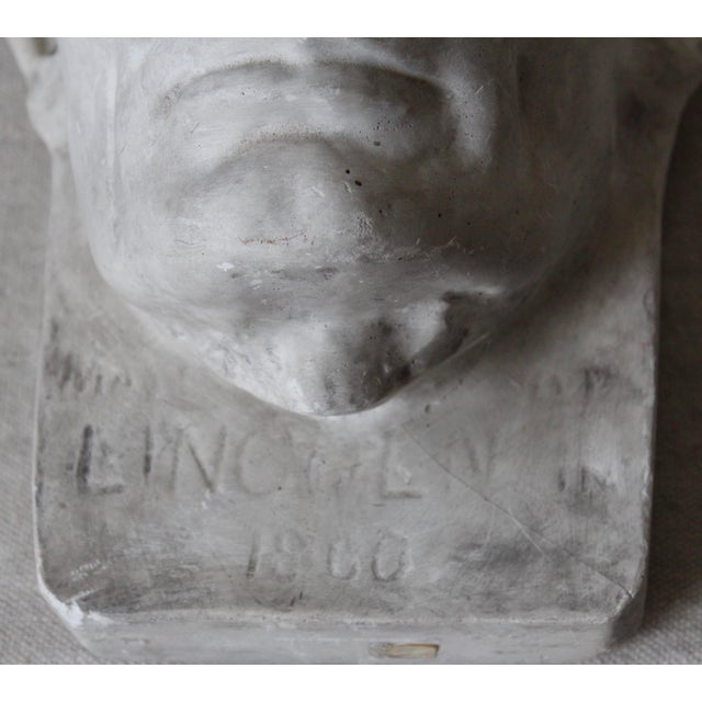 Plaster Abraham Lincoln Head/Mask - Image 5 of 6