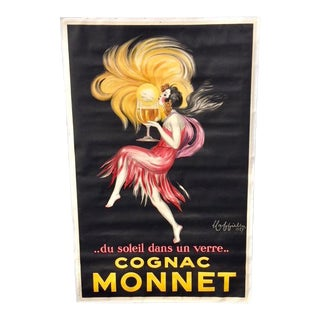 1927 French Cognac Poster by Leonetto Cappiello For Sale