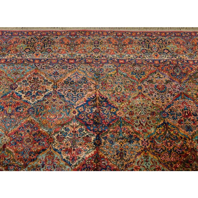 Early 20th Century Karastan Kirman Rug For Sale In Chicago - Image 6 of 11