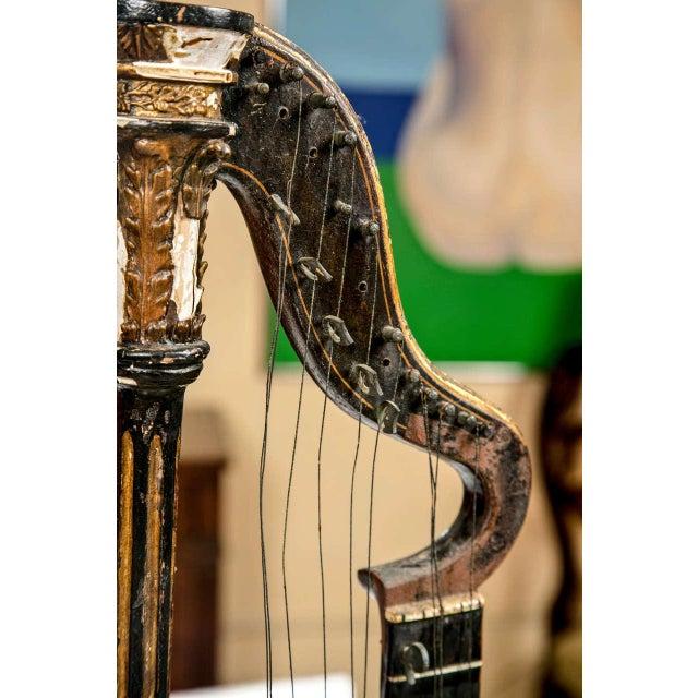 19th Century Edward Light Harp Lute - Image 3 of 7