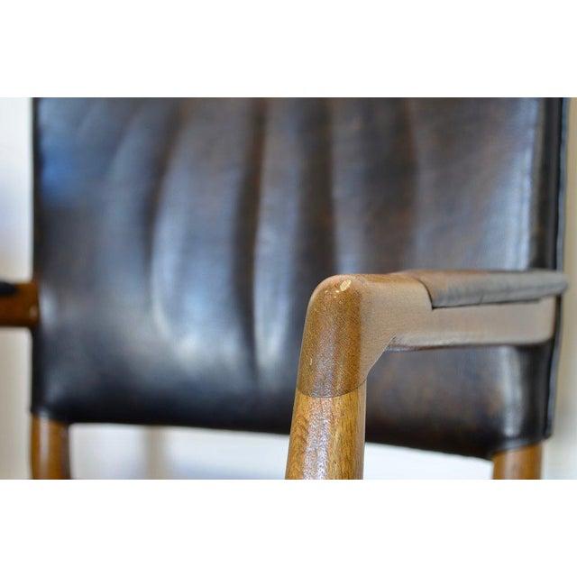 Black Aarhus City Hall Chair by Hans Wegner For Sale - Image 8 of 10
