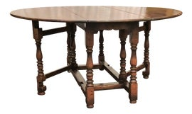 Image of Brown Drop-Leaf and Pembroke Tables