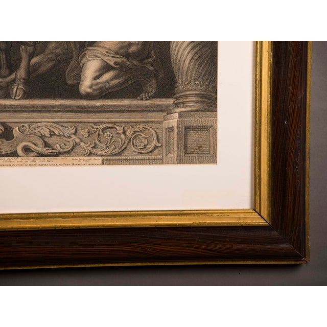 """""""The Triumph of Eucharistic Truth over Heresy"""", an engraving of the painting by Peter Paul Rubens c.1800. For Sale In Houston - Image 6 of 11"""