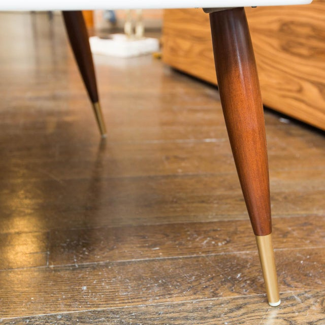 Vintage Lacquered Two-Tiered Corner Table - Image 7 of 8
