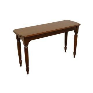20th Century Traditional Nichols & Stone Mahogany Sofa Table For Sale