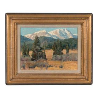 Stephen Elliott Original Rocky Mountain Nat'l Park Colorado Landscape Oil Painting For Sale