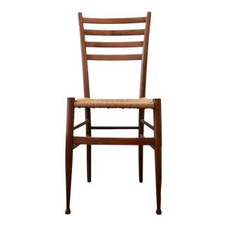 Superleggera-Style Woven Rope Chair