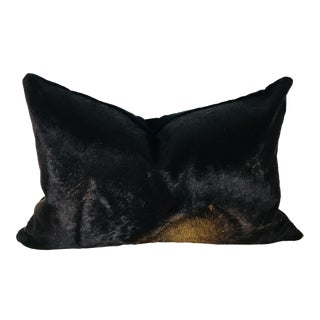 Vintage Natural Cowhide Pillow For Sale
