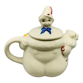 1940's Shawnee Tom Tom the Piper's Son Teapot For Sale