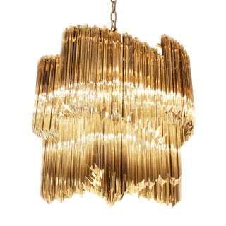 Murano Camer Venini Chandelier, C. 1970 For Sale