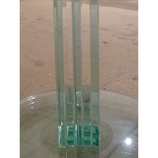 Fontana Arte Style Glass Tables - A Pair - Image 8 of 8