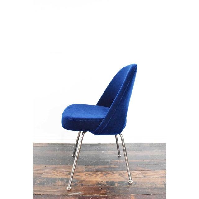 Metal Knoll Eero Saarinen Armless Executive Chair For Sale - Image 7 of 12