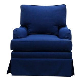 Modern Blue Custom Made Rocker For Sale