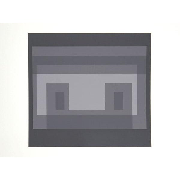 Artist: Josef Albers Portfolio: Formulation: Articulation (Double Portfolio) Title: Portfolio 1, Folder 30, Image 2 Year:...