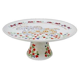 Porcelain Cake Plate