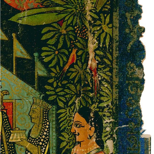 Vintage Indian Trade Label Archival Print For Sale - Image 4 of 4