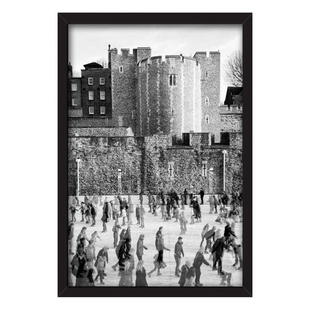 """""""Tower of London Ice Rink"""" Framed Print - Image 1 of 3"""