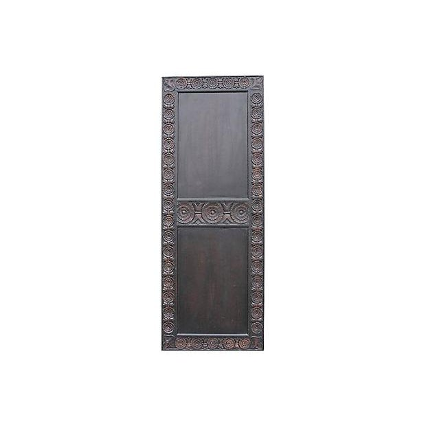 Carved Mahogany Finished Door - Image 2 of 5