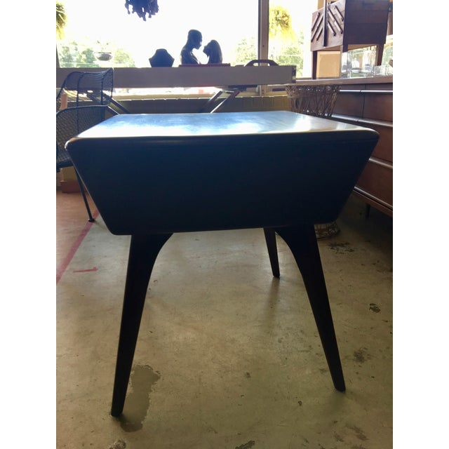 Heywood Wakefield Side Table For Sale - Image 9 of 13
