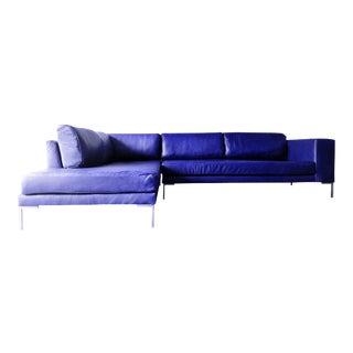 Ann Arbor Leather Sofa Chaise Sectional