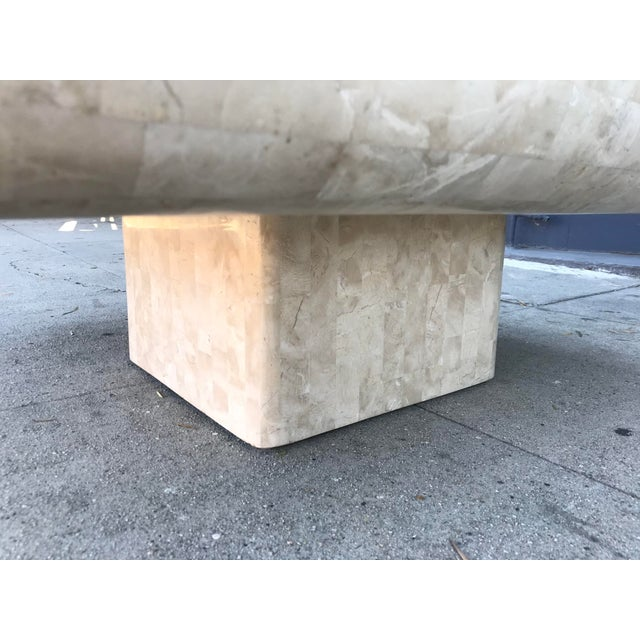 1980s 1980s Art Deco Maitland-Smith Tesselated Stone Coffee Table For Sale - Image 5 of 10