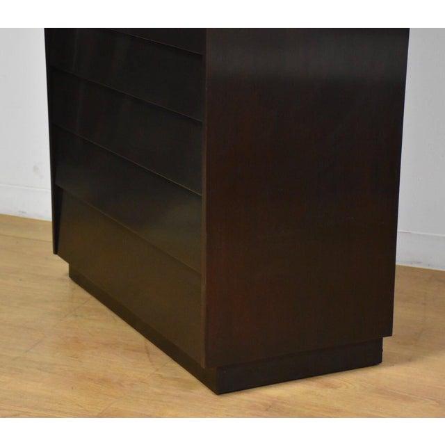 Dunbar Furniture Edward Wormley for Dunbar Ebonized Dresser For Sale - Image 4 of 11