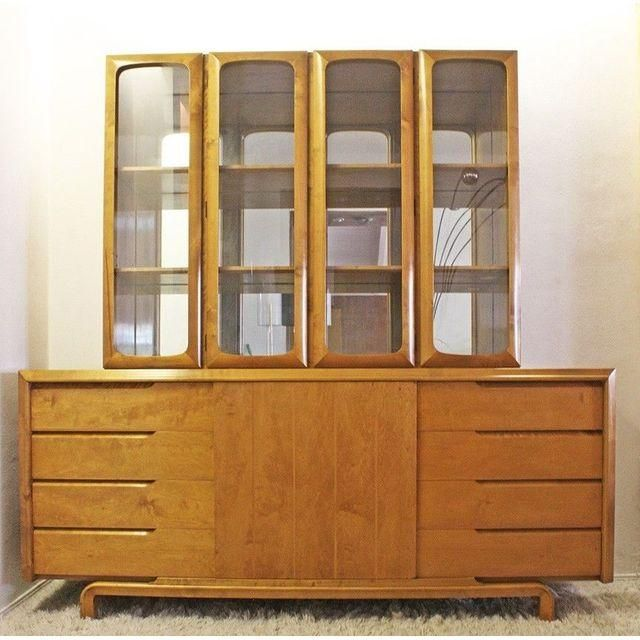 Mid-Century Rare Edmund Spence Bar or Wall Unit - Image 2 of 5