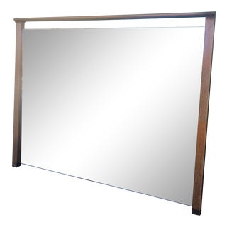 Mid Century Drexel Profile Wall Mirror For Sale