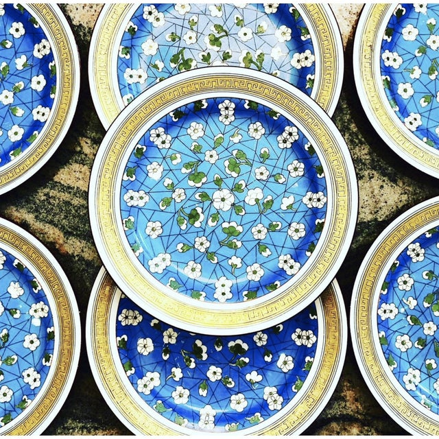 19th Century Wedgwood Blossom Plates - Set of 7 For Sale - Image 9 of 12