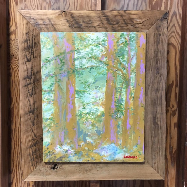 Ithaca, NY Original Landscape Painting For Sale - Image 5 of 5