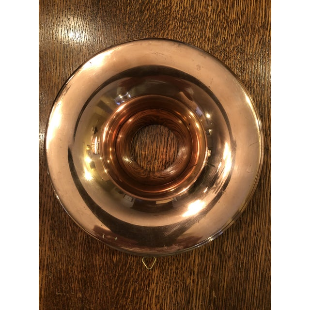 American Vintage 1940s Copper Mold For Sale - Image 3 of 7
