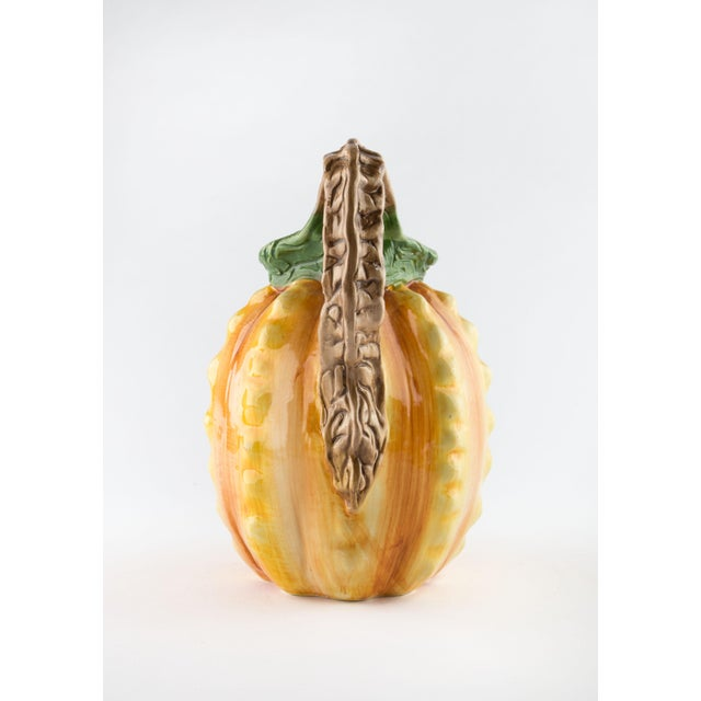 Vintage Hand Painted Italian Pineapple Pitcher For Sale In Raleigh - Image 6 of 11