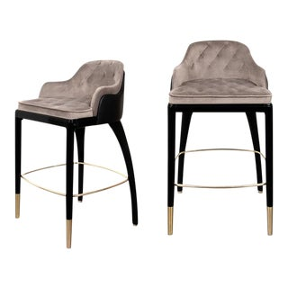 Covet Paris Charla Bar Chair For Sale