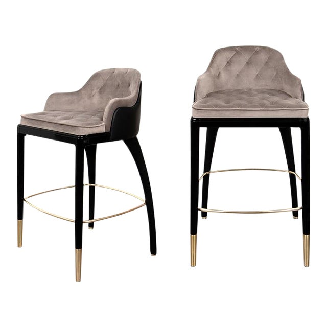 Covet Paris Charla Bar Chair For Sale