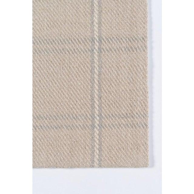 Modern Erin Gates Marlborough Dover Beige Hand Woven Wool Area Rug 2' X 3' For Sale - Image 3 of 5