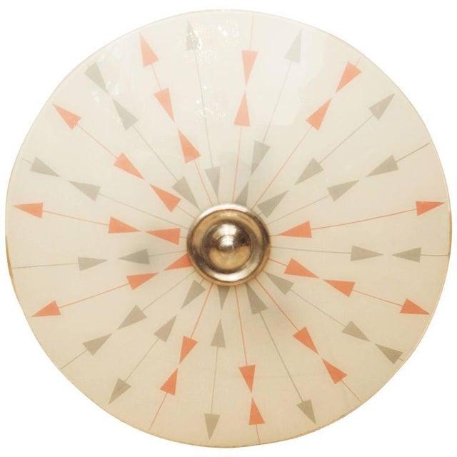 Mid-Century Czech Pendant Lamp, 1958 For Sale - Image 11 of 11