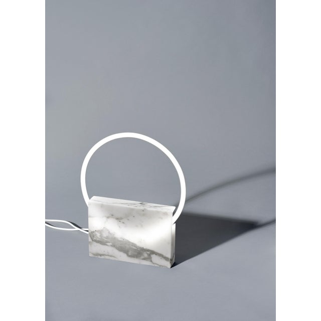2010s Onyx Table Lamp, Sabine Marcelis For Sale - Image 5 of 10