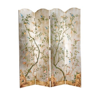 Chelsea House Inc Yin 4-Panel Screen For Sale