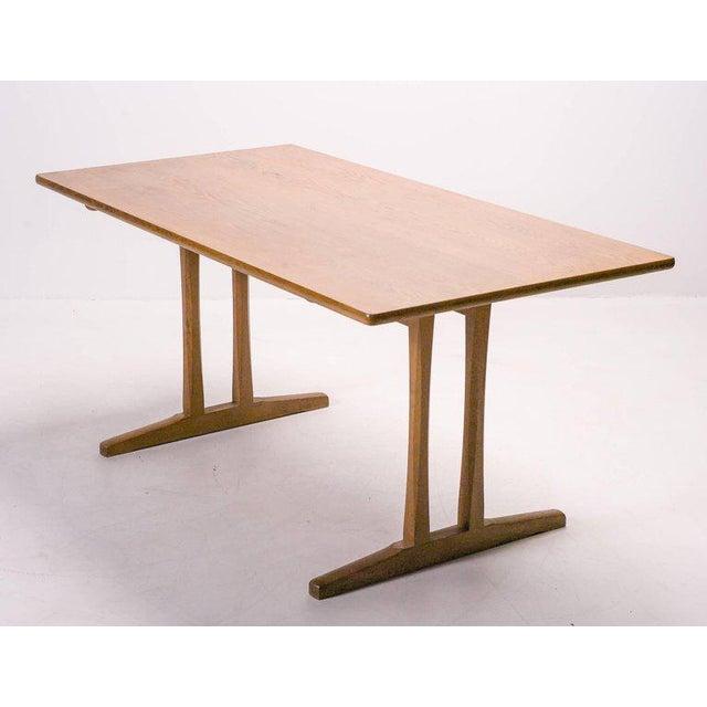 Shaker Table, C18 by Børge Mogensen For Sale - Image 10 of 10