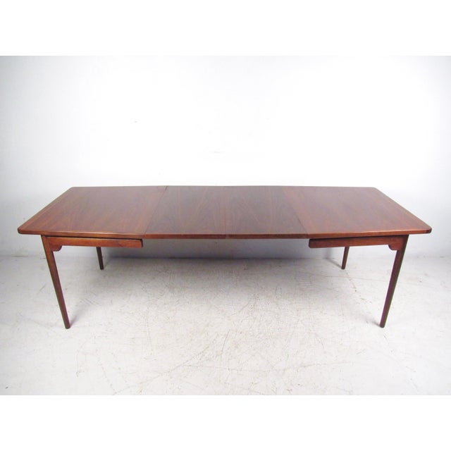 Jens Risom Danish Modern Dining Table - Image 2 of 10