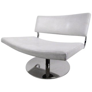 Modern Swivel Lounge Chair For Sale