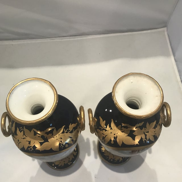 19th Century Royal Worcester Vases - a Pair For Sale - Image 9 of 13