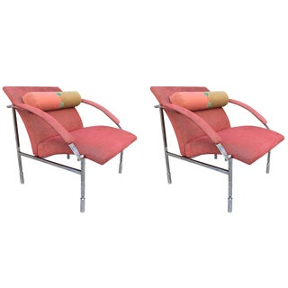 Pair Saporiti Lounge Chairs