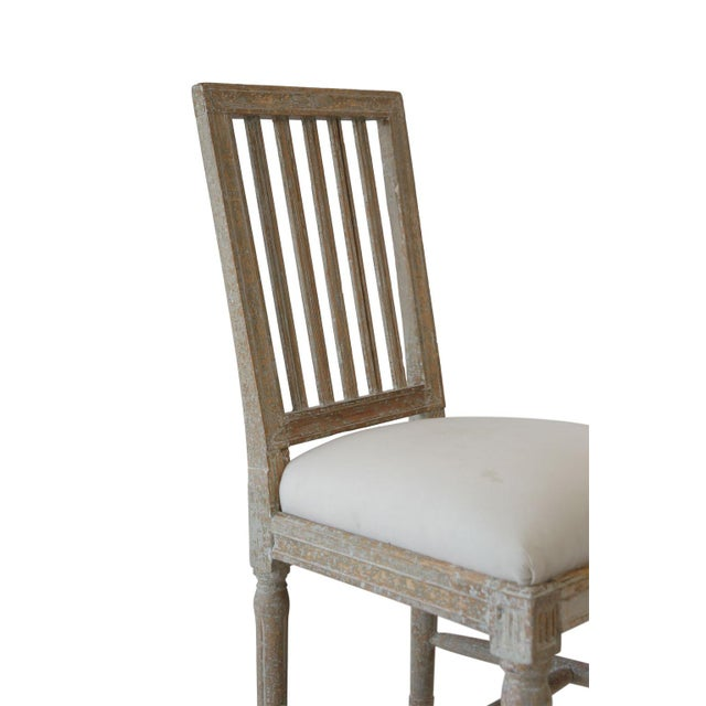 Six Swedish Dining Chairs For Sale - Image 4 of 11