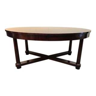 Baker Furniture Barbara Barry Oval Dining Table
